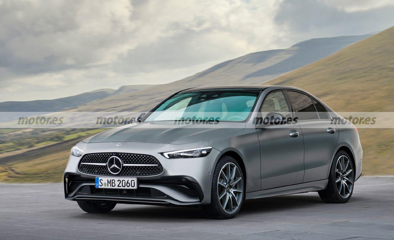 Nuova Mercedes Classe E render