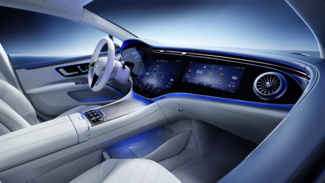Nuova Mercedes EQS
