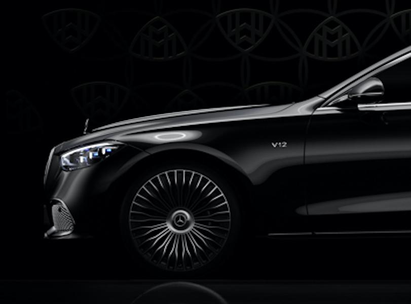 Nuova Mercedes-Maybach Classe S V12 teaser