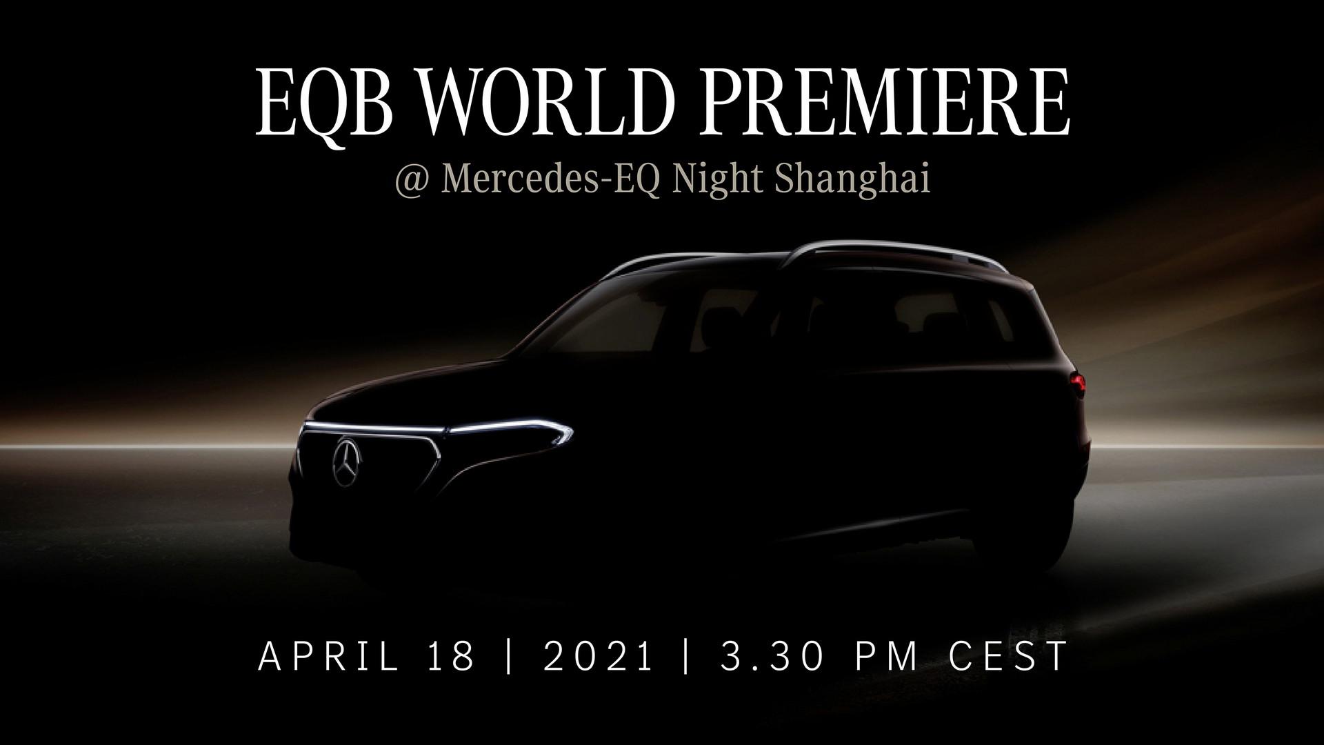 Nuovo Mercedes EQB teaser