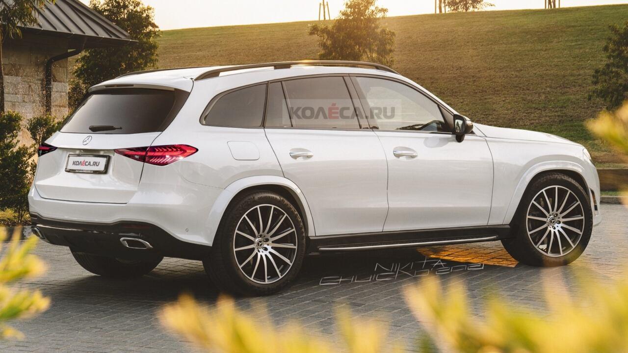 Nuovo Mercedes GLC render Kolesa