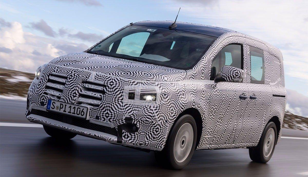 Nuovo Mercedes eCitan prototipo pre-produzione