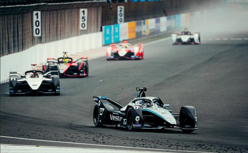 Nyck de Vries Mercedes E-Prix Valencia