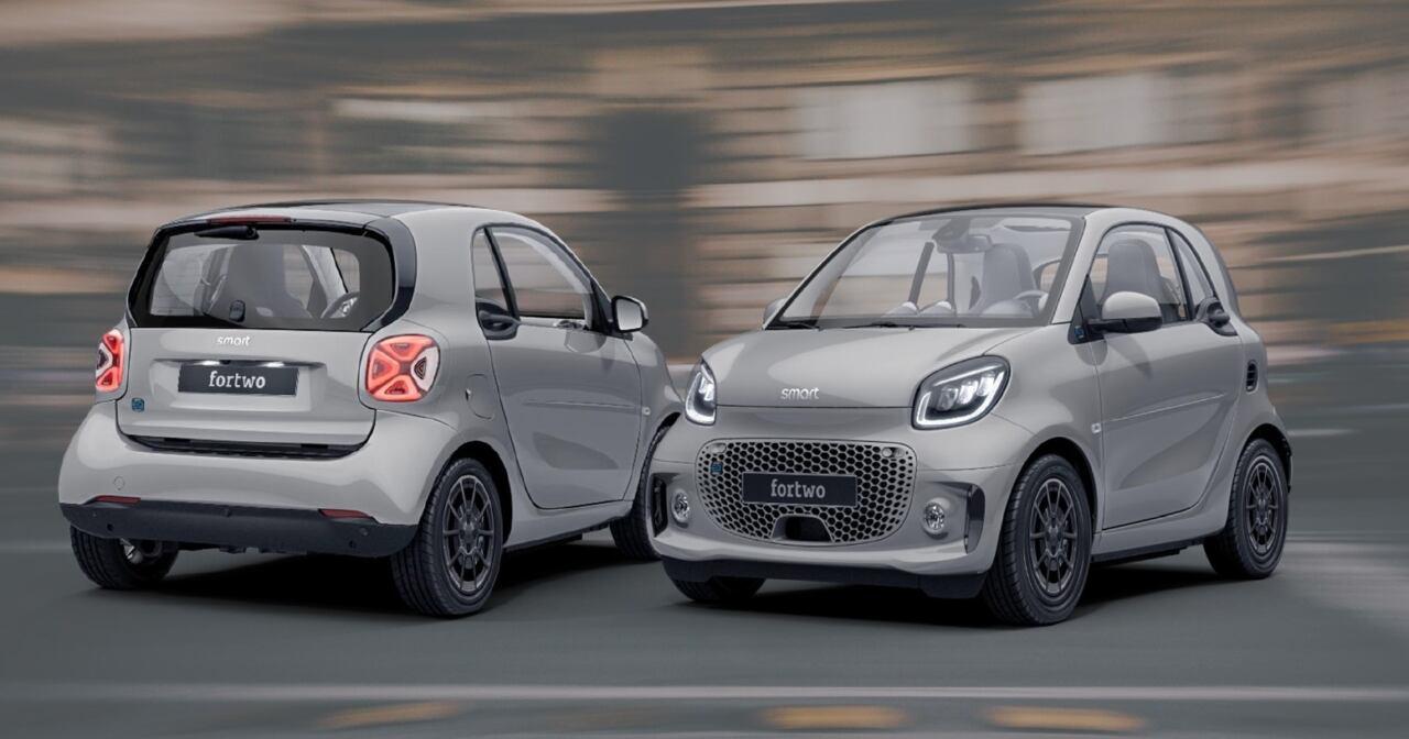 Smart EQ ForTwo Racingrey