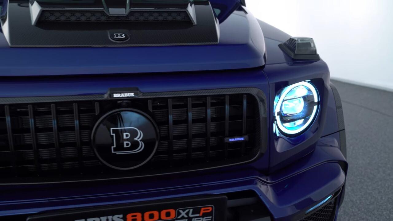 Brabus 800 Adventure XLP blu