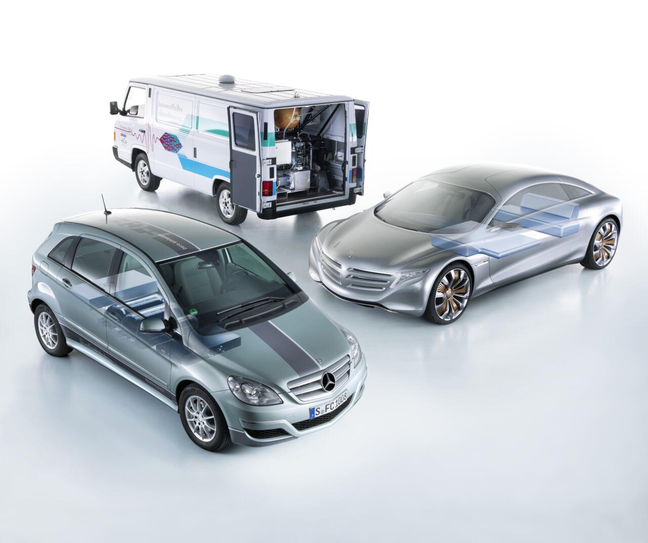Daimler celle a combustibile 30 anni fa