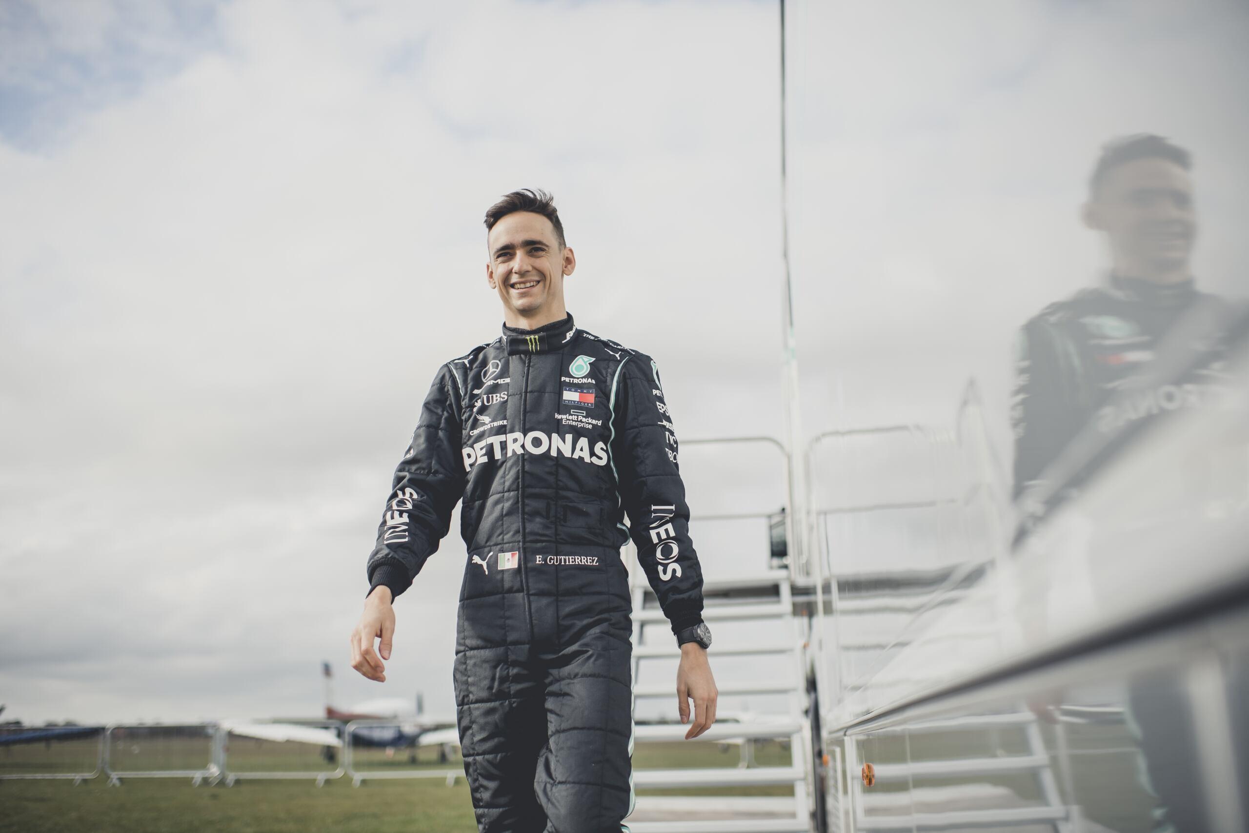 Esteban Gutierrez Mercedes-AMG Petronas F1