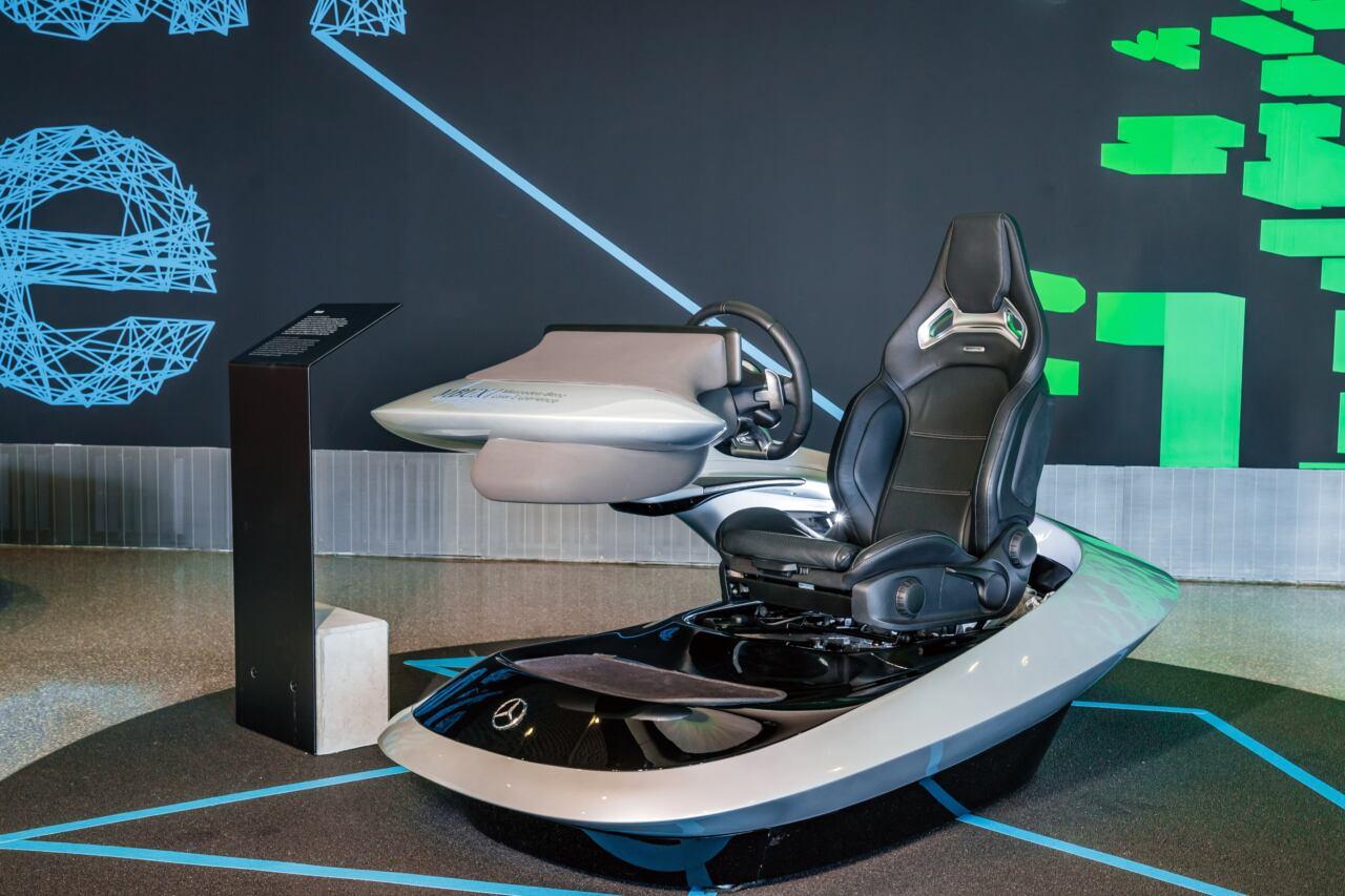 Future mobility Mercedes-Benz Museum