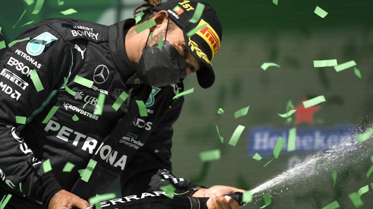 Lewis Hamilton Gran Premio Portogallo
