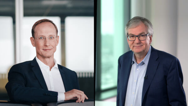 Martin Daum Daimler e Franz-Werner Haas CureVac
