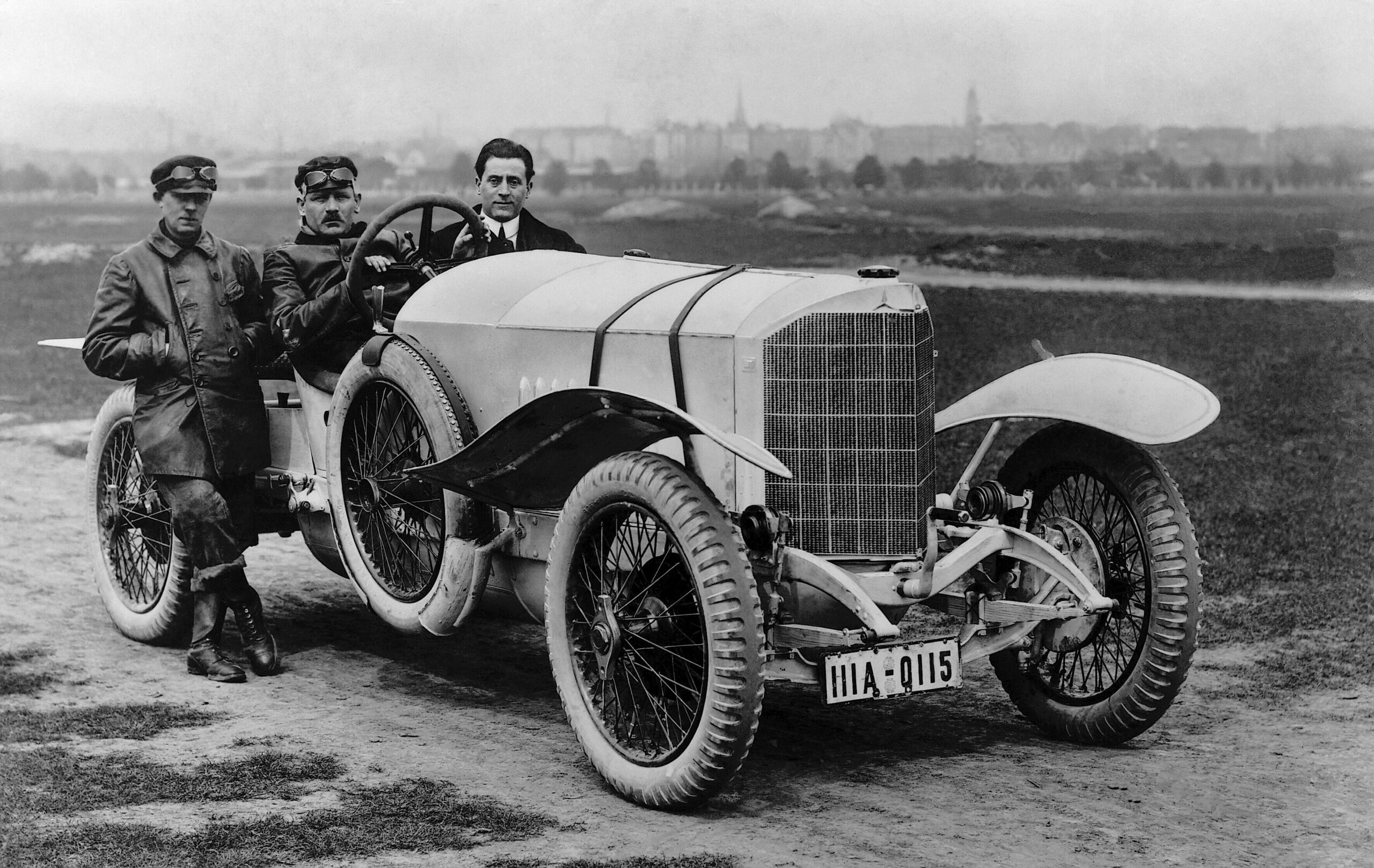 Mercedes 28/95 hp Sport Targa Florio 1921