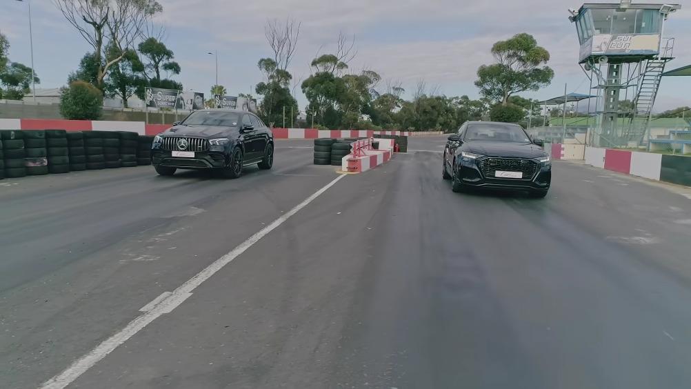 Mercedes-AMG GLE 63 S Coupé vs Audi RS Q8 drag race