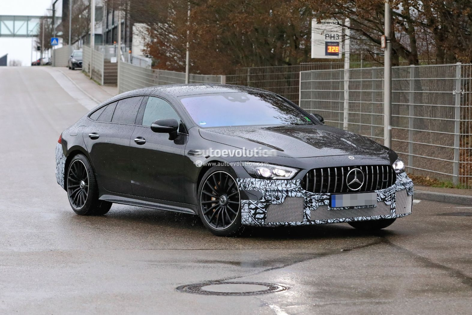 Mercedes-AMG GT 73 e nuove foto spia