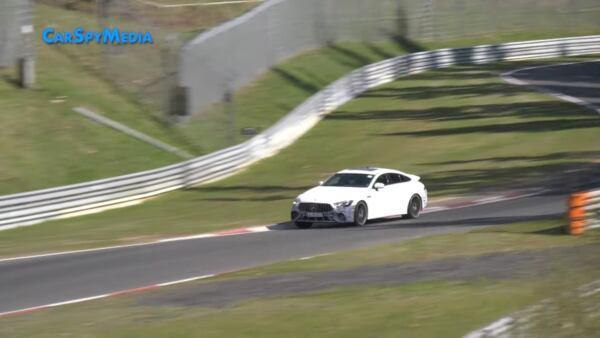 Mercedes-AMG GT 73 e prototipo Nurburgring