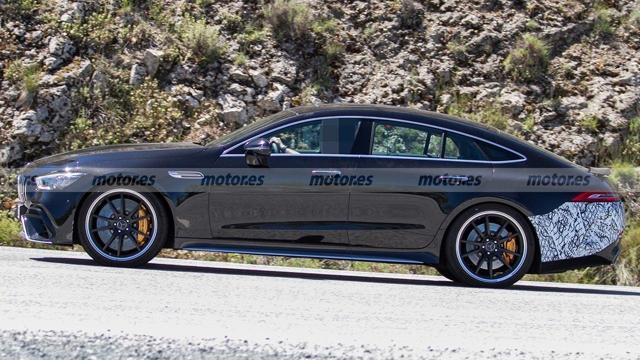 Mercedes-AMG GT 73 e ultimo prototipo foto spia