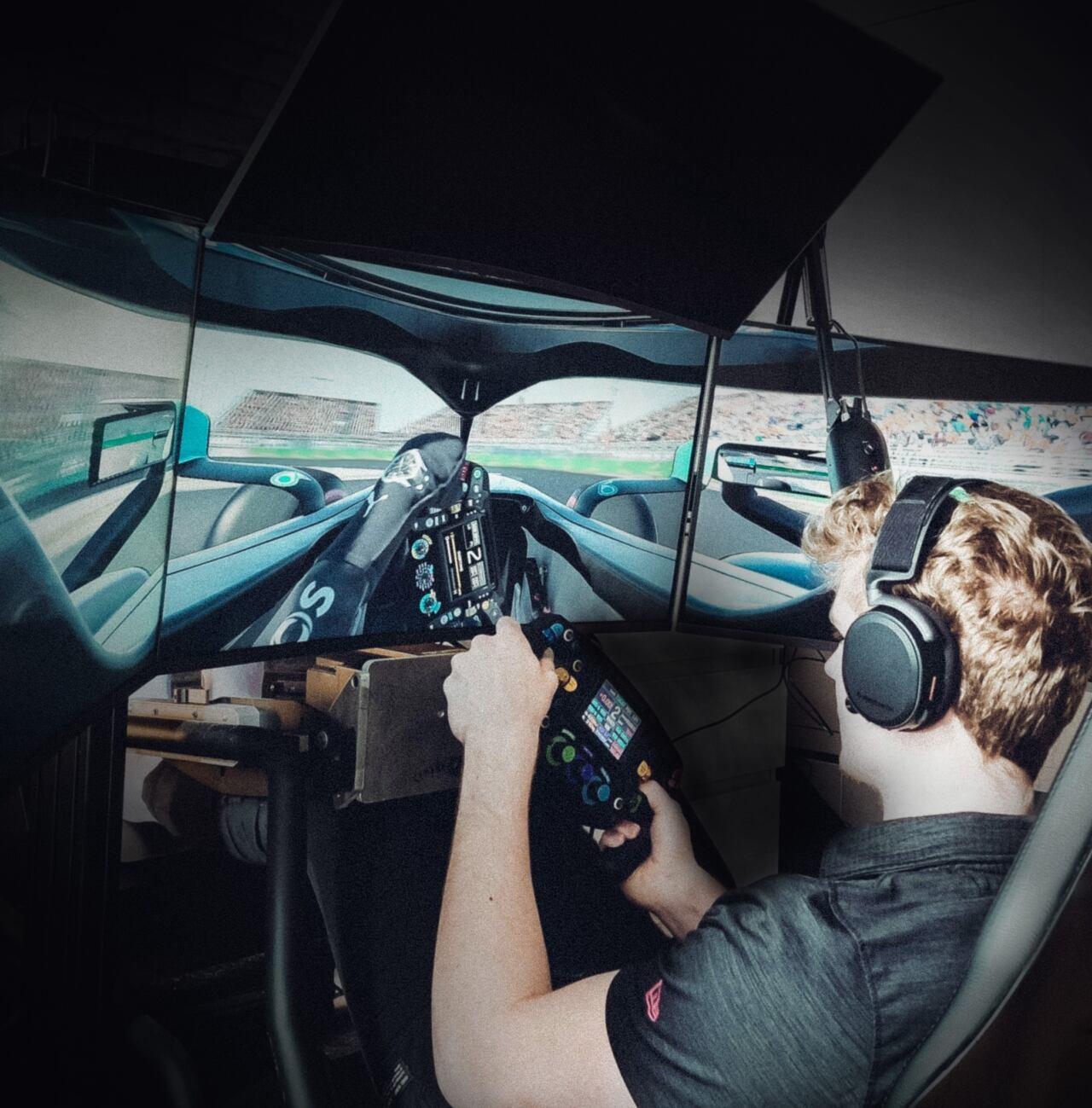 Mercedes-AMG Petronas Esports Team AMD partnership