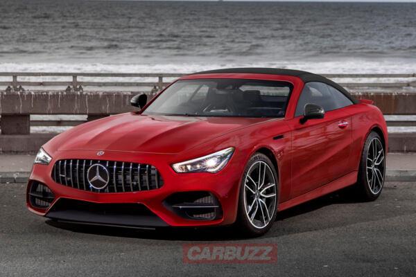 Mercedes-AMG SL 2022 render