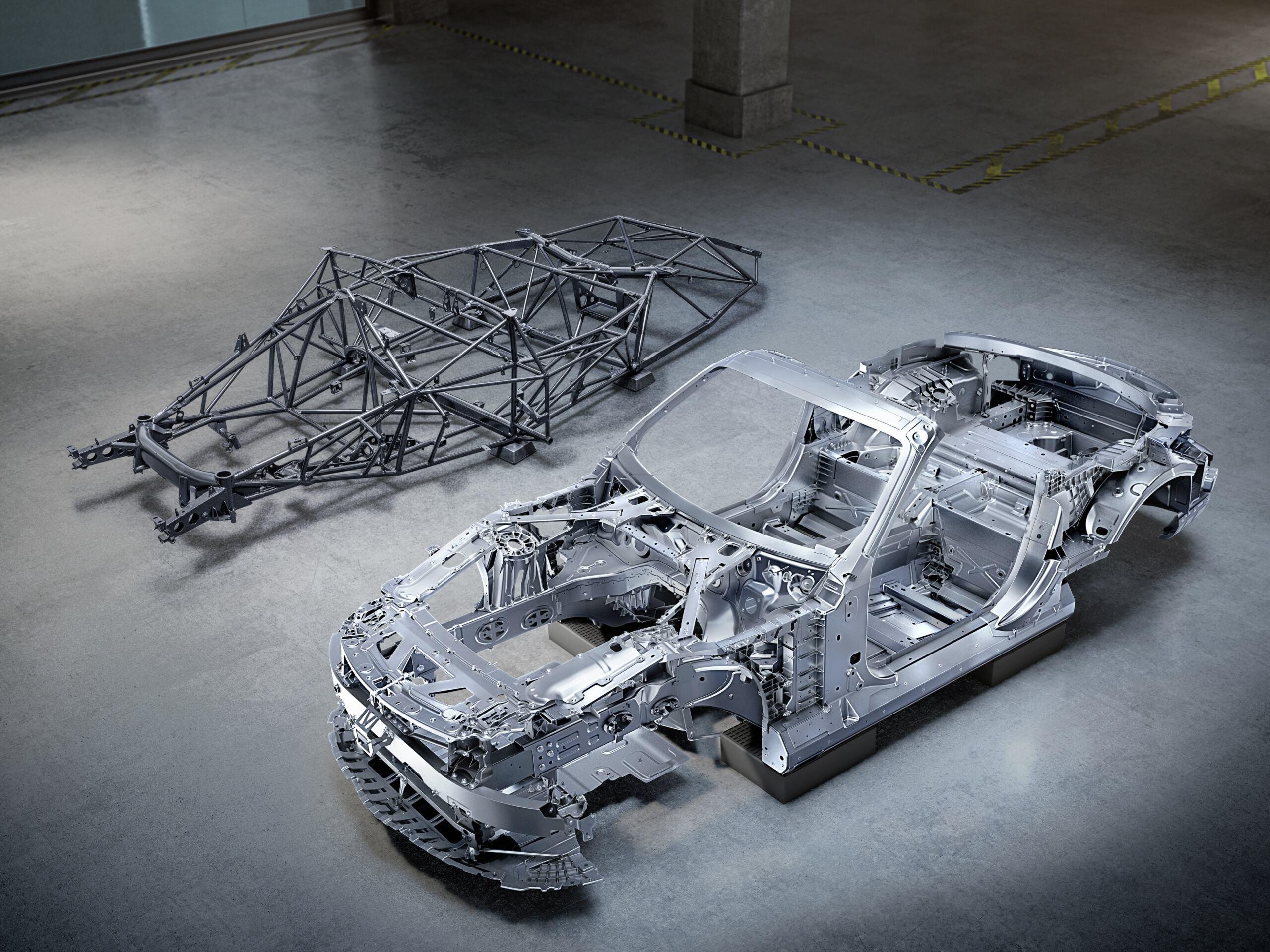Mercedes-AMG SL 2022 telaio