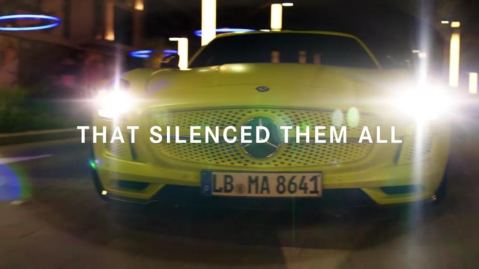 Mercedes-AMG futuro elettrico SLS Electric Drive