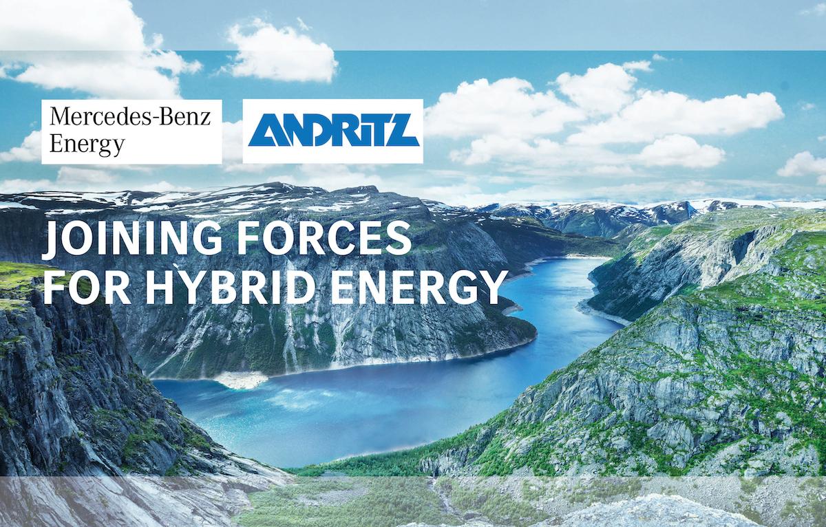 Mercedes ANDRITZ sistemi accumulo energia