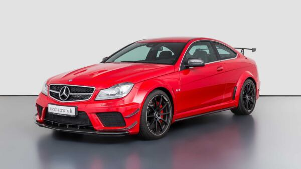 Mercedes-Benz C 63 AMG Black Series 120 km
