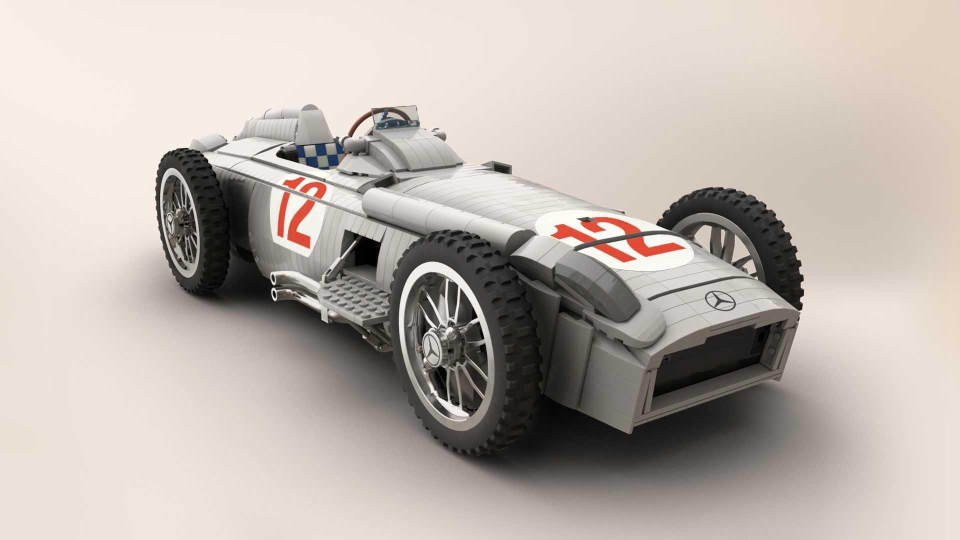 Mercedes-Benz W196R Lego Ideas