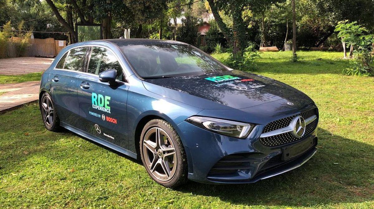 Mercedes Bosch test emissioni Firenze