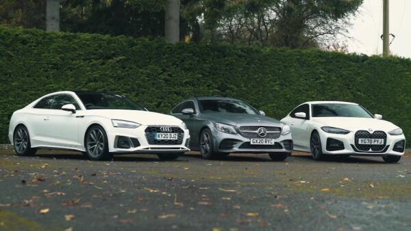 Mercedes Classe C vs Audi A5 vs BMW Serie 4
