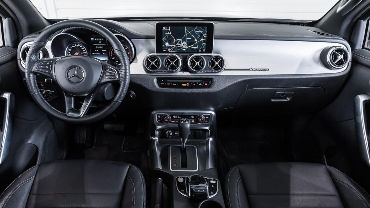 Mercedes Classe X 6x6 one-off