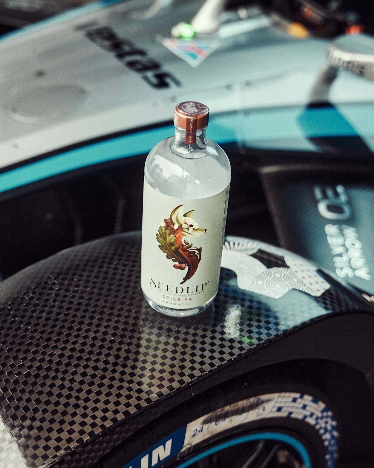 Mercedes-EQ Formula E Team partnership Seedlip