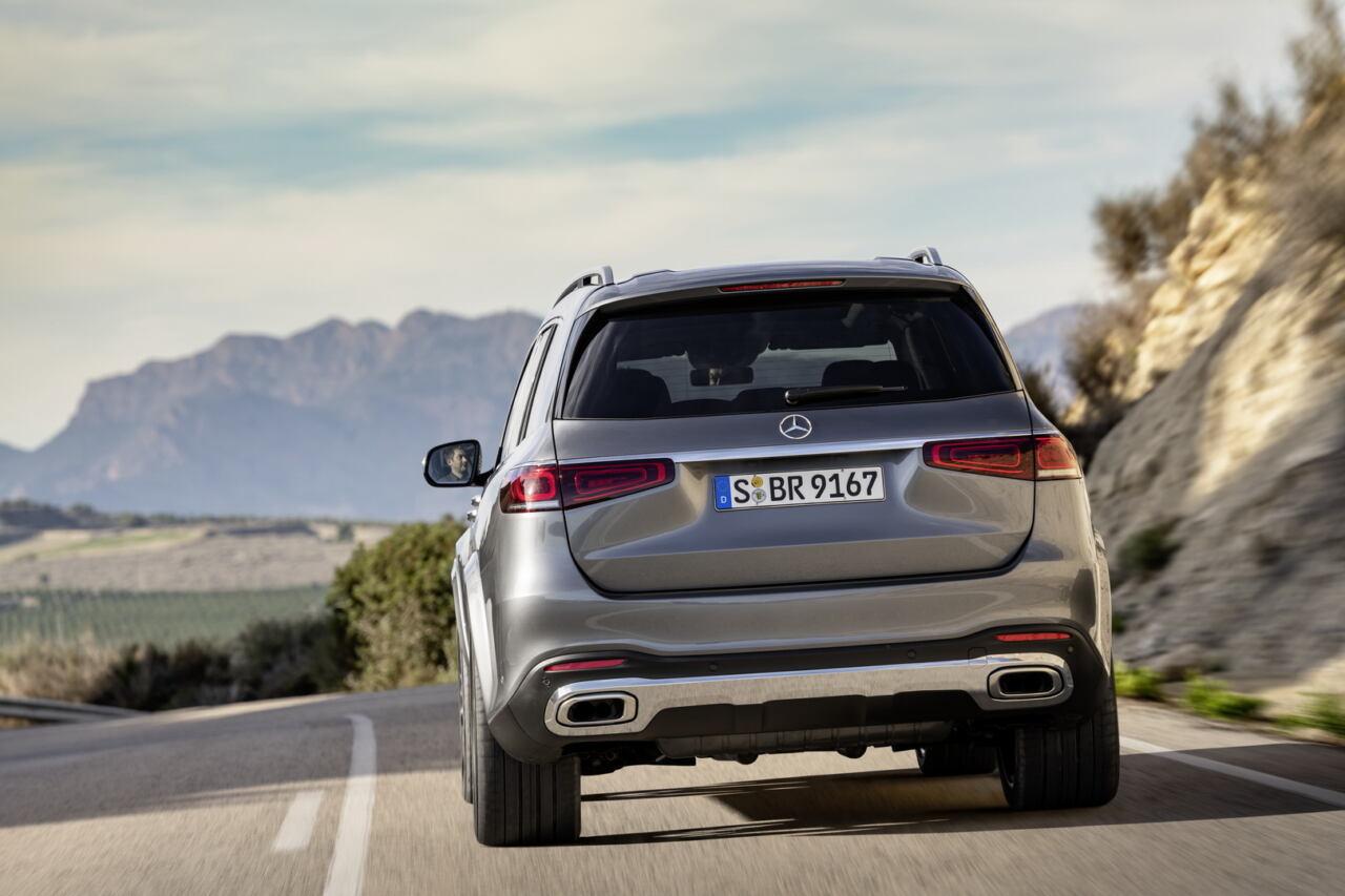 Mercedes GLS 2020 richiamo
