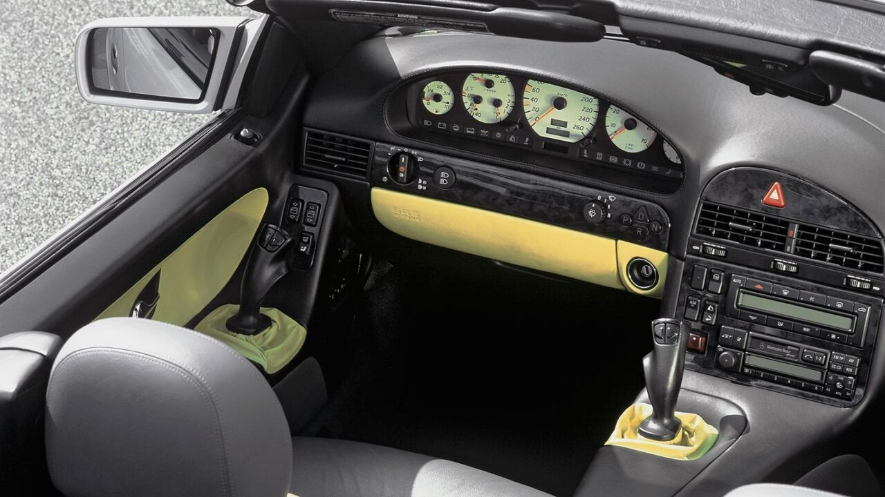 Mercedes SL R129 sistema controllo joystick