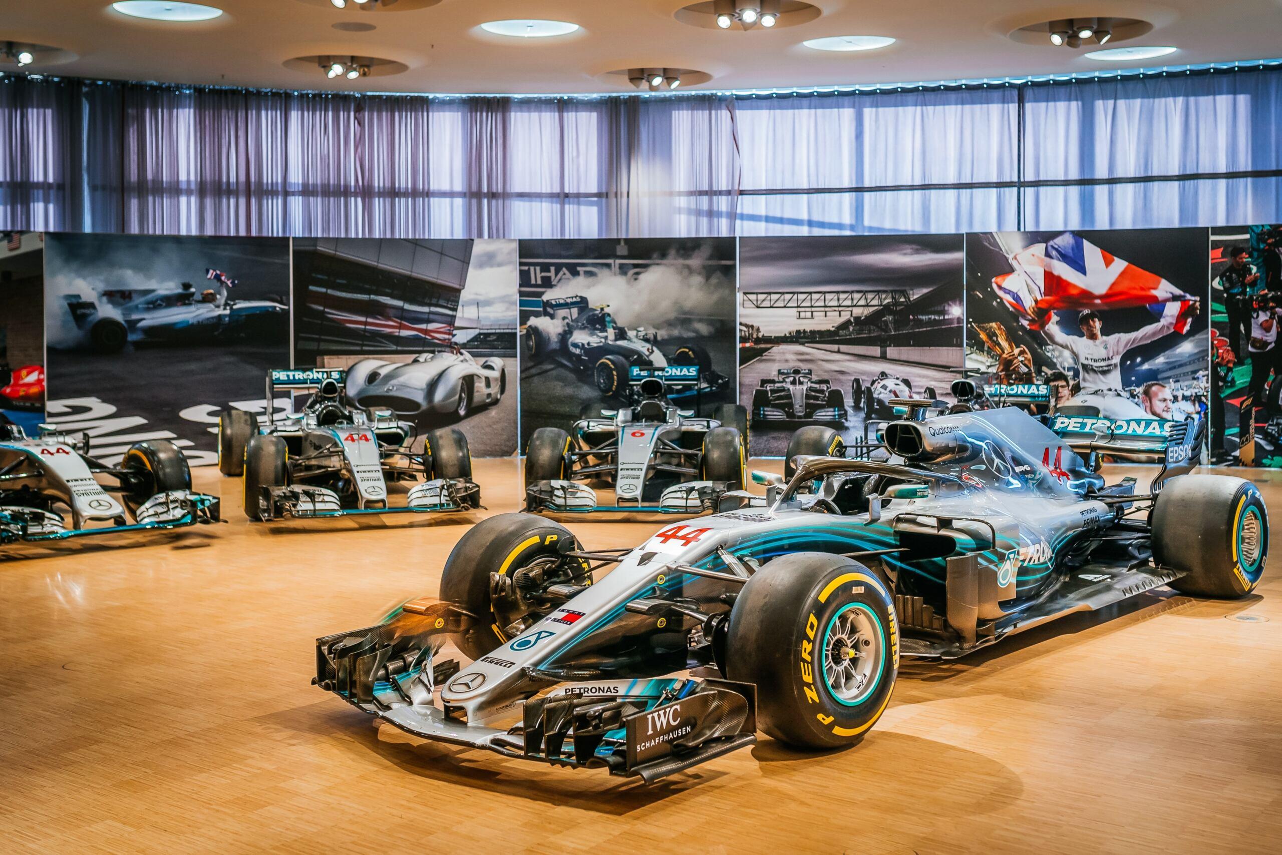 Mercedes Silver Arrow mostra museo