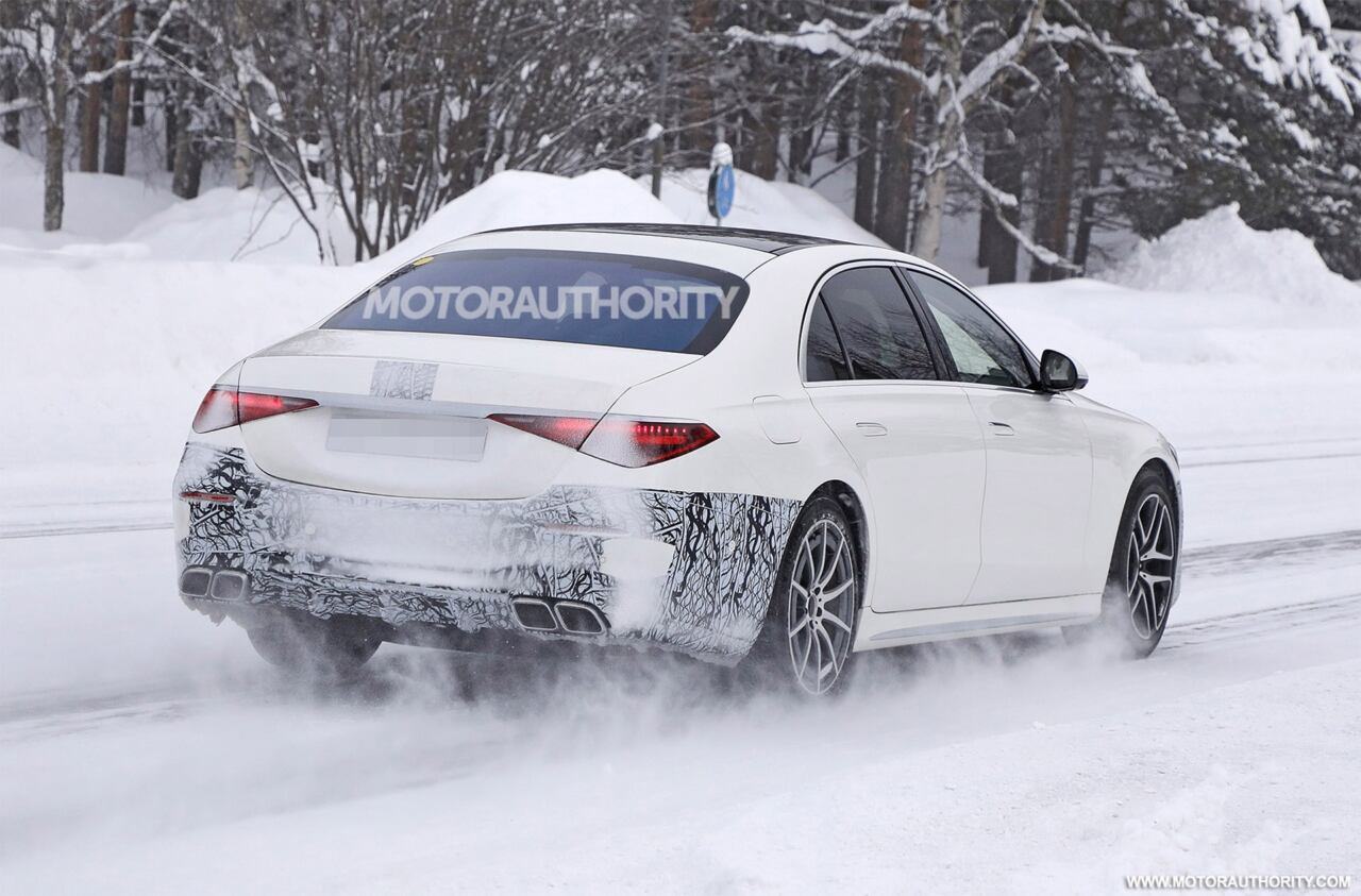 Nuova Mercedes-AMG S 63 e ultime foto spia