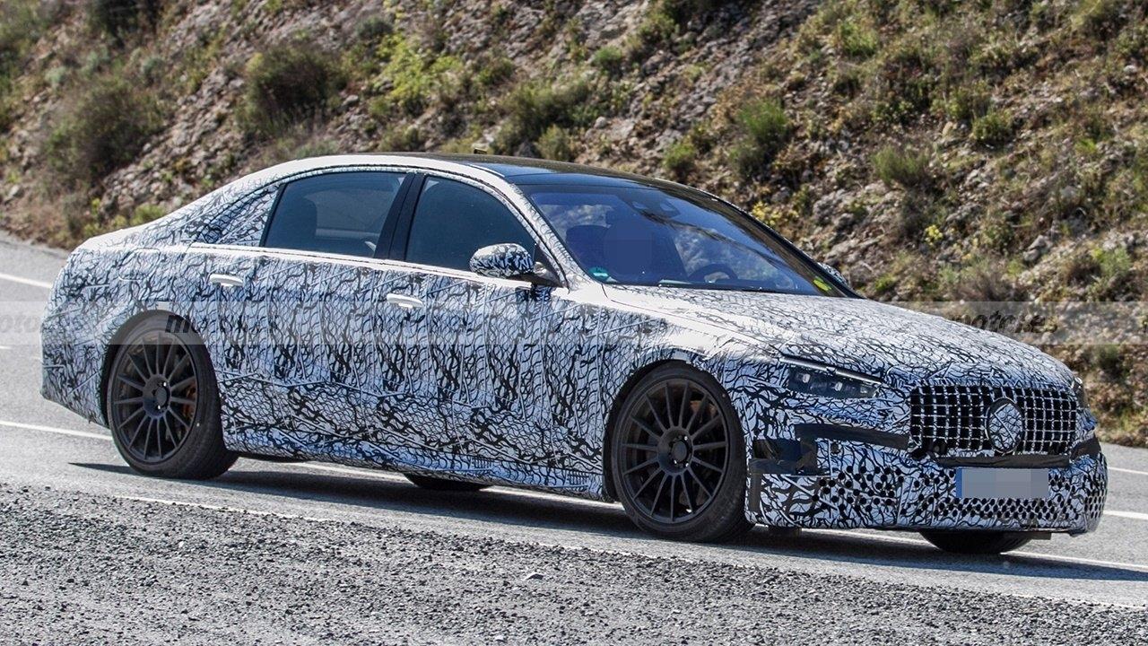 Nuova Mercedes-AMG S 63 e ultimo prototipo