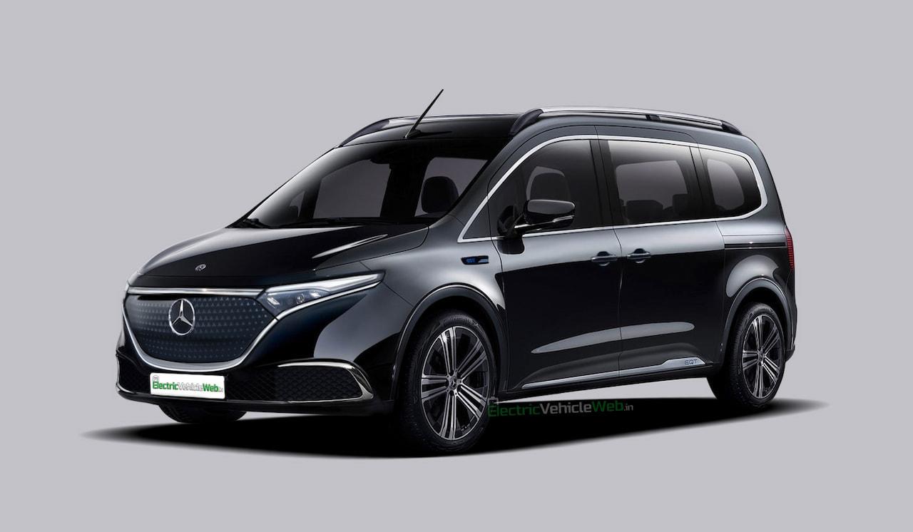 Nuova Mercedes EQT render
