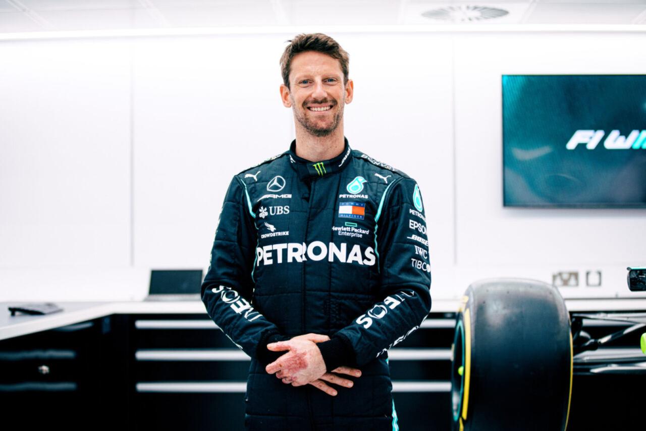 Romain Grosjean Mercedes