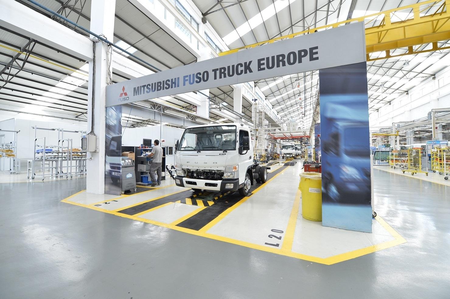 Daimler stabilimento FUSO europeo