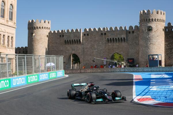 F1 GP Azerbaigian Mercedes