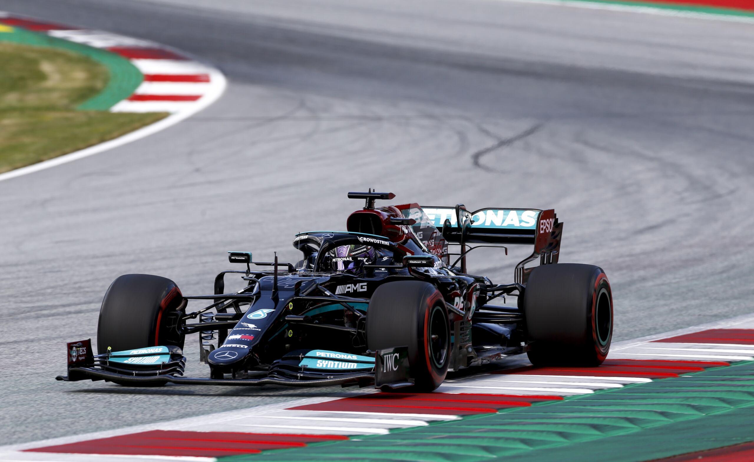 Gran Premio Stiria 2021 sabato Mercedes