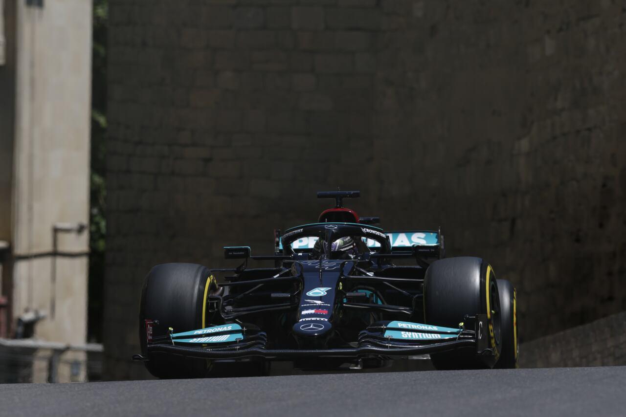 Lewis Hamilton Valtteri Bottas Mercedes-AMG Petronas F1