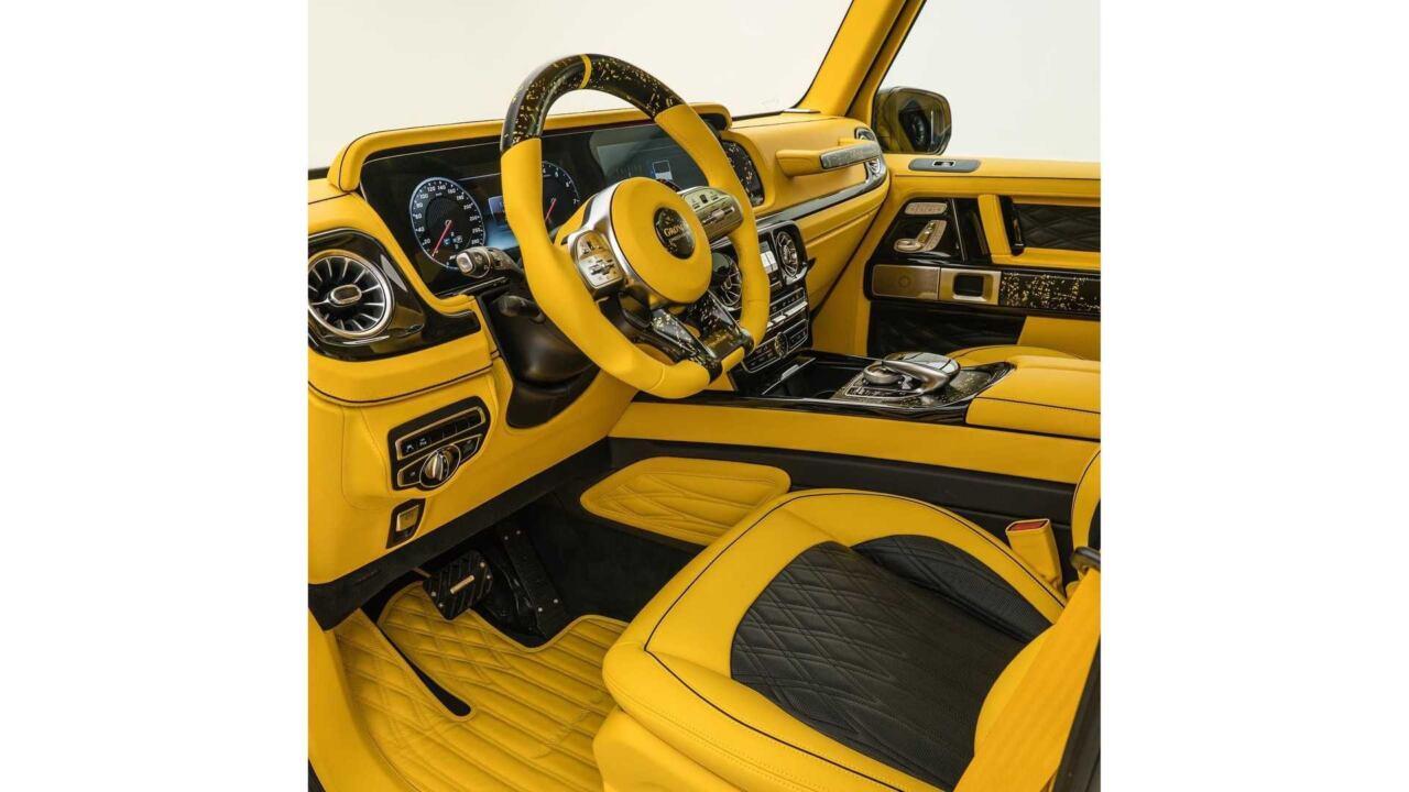 Mansory Gronos giallo