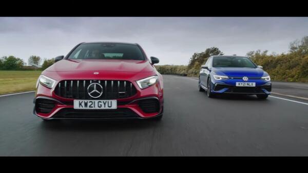 Mercedes-AMG A 45 S vs Volkswagen Golf R