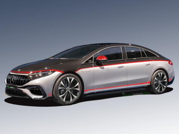 Mercedes-AMG EQS Edition 1 render