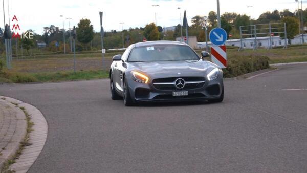 Mercedes-AMG GT 850 CV drag race