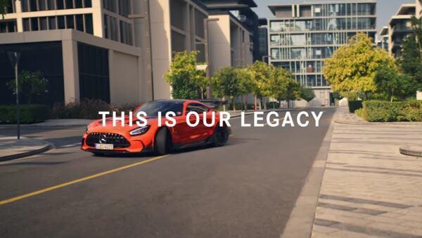 Mercedes-AMG GT Black Series video promozionale
