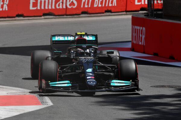 Mercedes-AMG Petronas F1 Baku venerdì