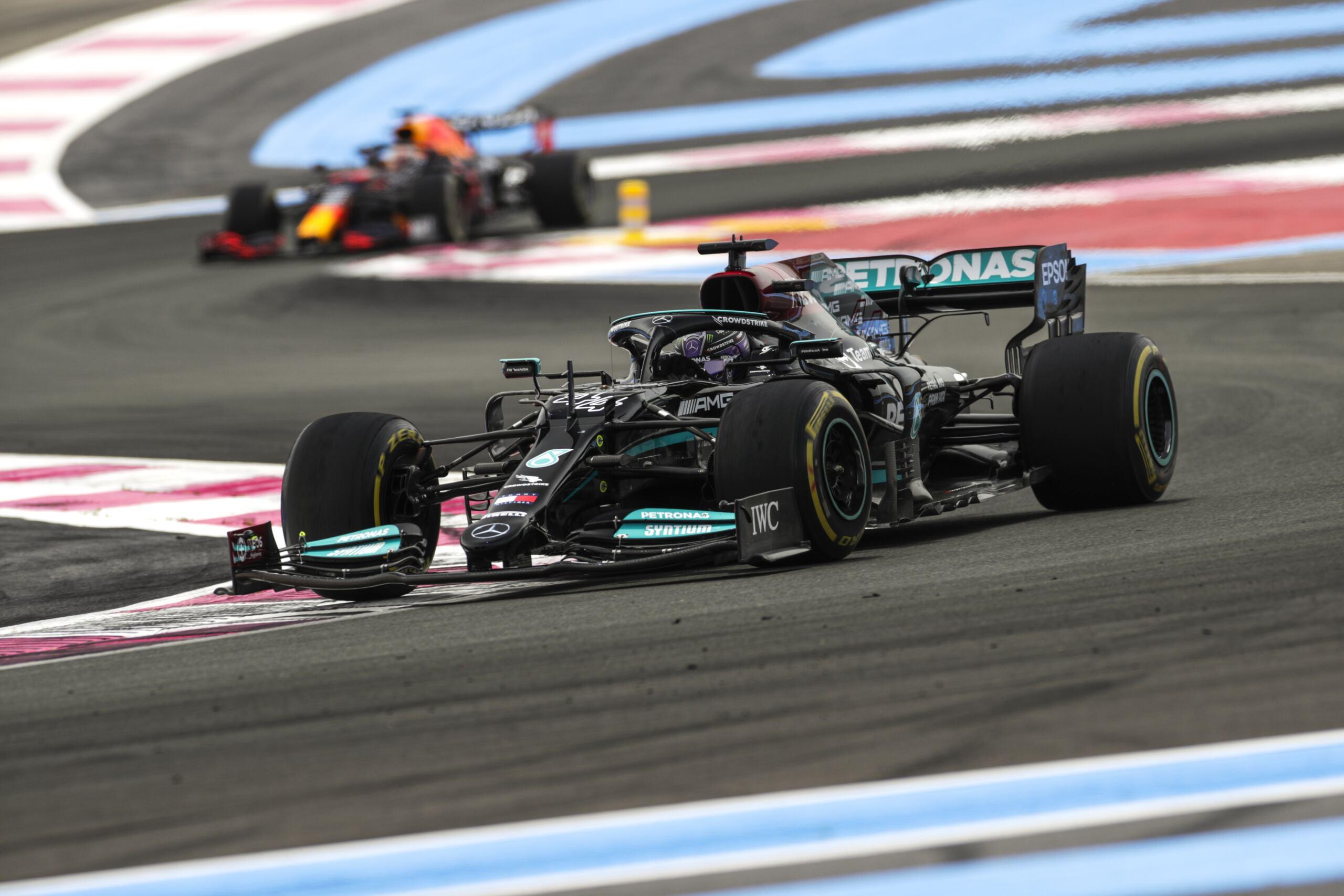 Mercedes-AMG Petronas F1 risultati Francia