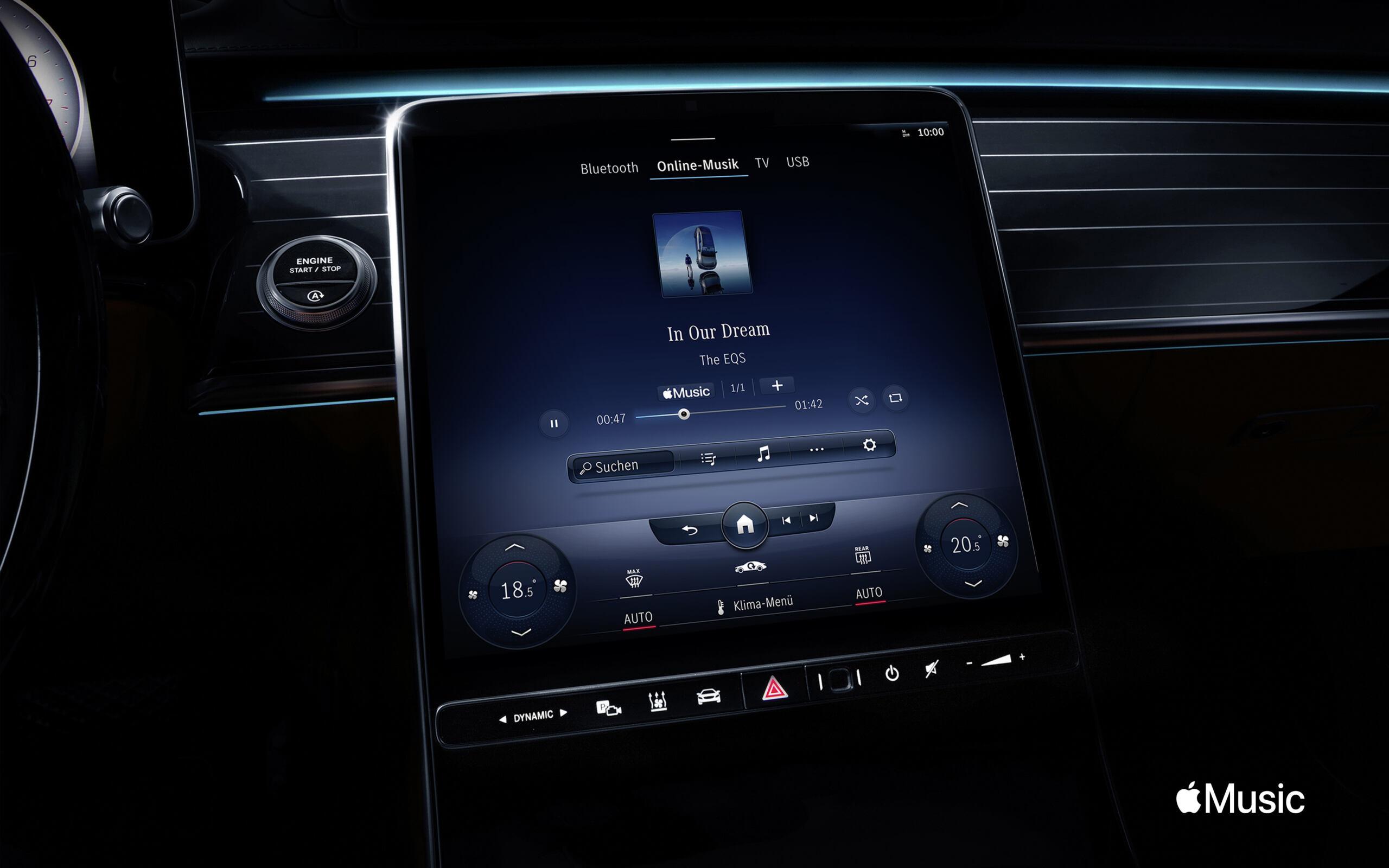 Mercedes Apple Music