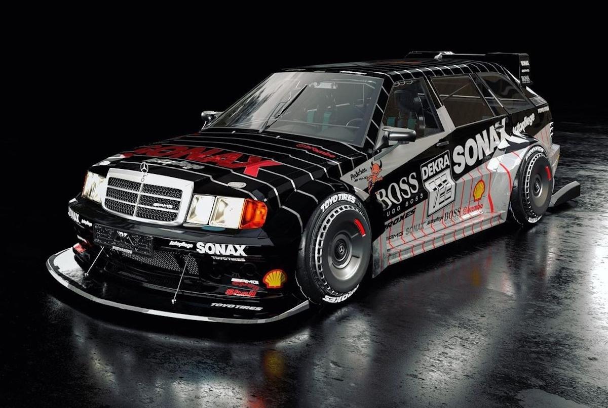 Mercedes-Benz 190E 3.2 AMG Wagon render